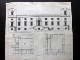 Vitruvius Britannicus 1717 LG Architecture. Garden of Wilton in Wilts 2-62 Jones
